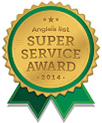 Angie's List Super Service Award 2014