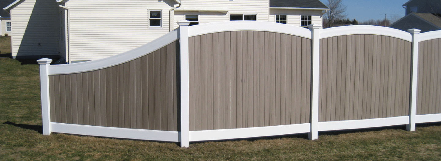 oregon convex pvc fencing