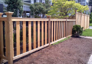 residential Custom Craftsman ornamental fence