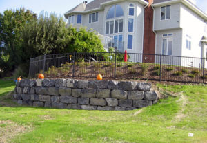 residential majestic 2 rail ornamental fence