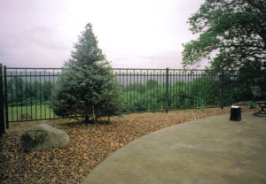 residential conqueror ornamental fence