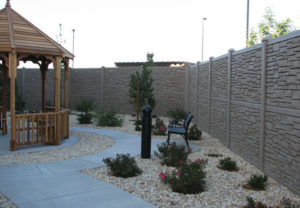 residential simteck fence