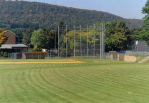 galvanized baseball backstop fencing