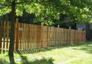 Syracuse Wood Fence Installation