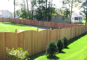 residential convex middleborough wood fence