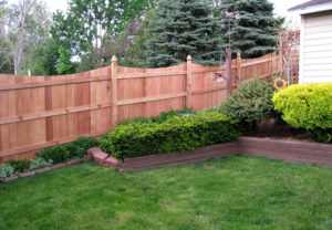 residential concave middleborough wood fence
